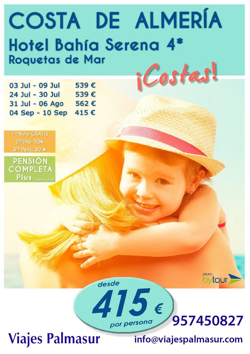 AVANCE #VERANO  957450827 info@viajespalmasur.com #ofertas #playa #viajar #familia #pareja #verano2017<br>http://pic.twitter.com/XLKuG1vZJJ