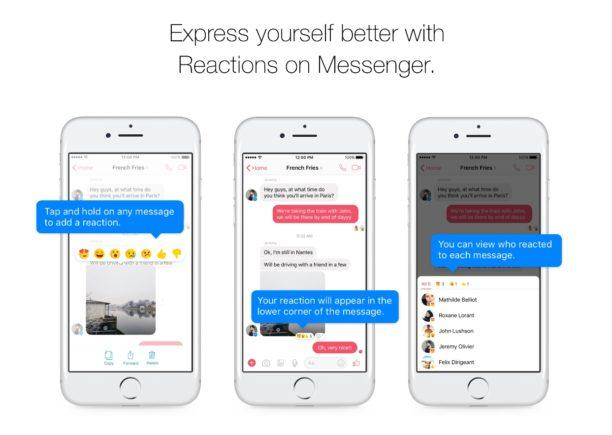 Messenger, n°1 des appli de messagerie, intègre les Réactions et les Mentions !  http:// bit.ly/2n16Aqg  &nbsp;   #SocialMedia #RéseauxSociaux<br>http://pic.twitter.com/vfNQSsdudq