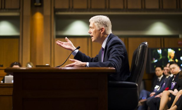 Gorsuch emerged unscathed from #SCOTUS #ConfirmationHearing but his biggest hurdle may be yet to come.  http:// ow.ly/y57V30adKl2  &nbsp;  <br>http://pic.twitter.com/vH5cgqPVzr