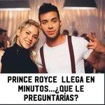 @PrinceRoyce escogió a #DespiertaAmerica para presentar su video #DejaVu a dueto con @shakira ... ¿Qué le preguntarías?