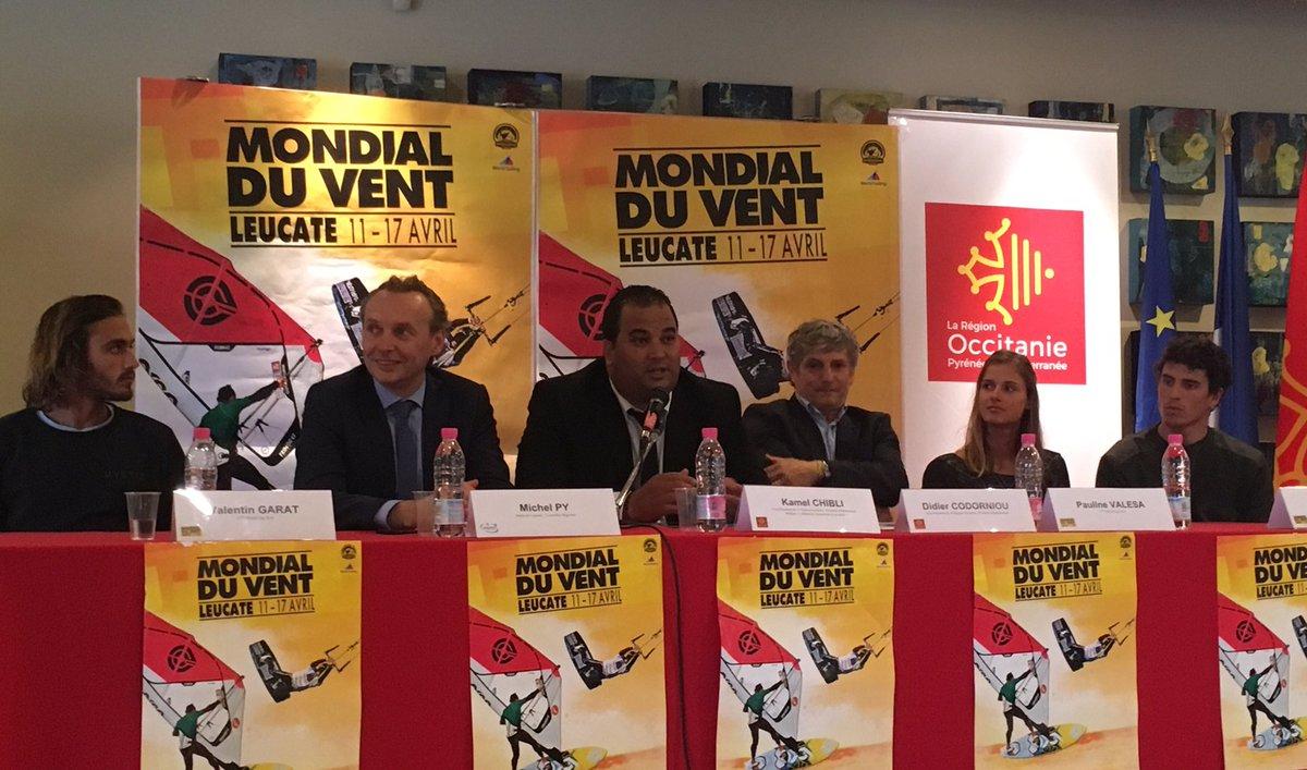 La Région #Occitanie soutient tous les sports sur tous les territoires ! #MondialDuVent à #Leucate du 11 au 17 avril<br>http://pic.twitter.com/9tuIheMkI0