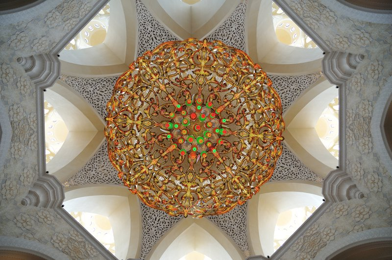 The Sheik Zayed Mosque Abu Dhabi Home To Seven Of Largest Chandeliers In World Chandelier Crystal Largestintheworld Light Twitter Com