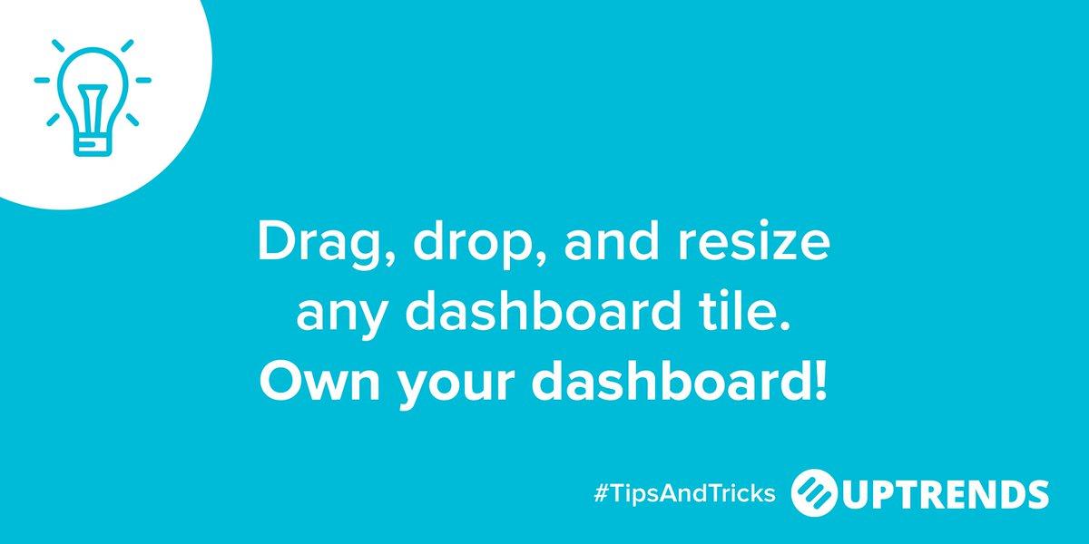 customdashboards hashtag on Twitter
