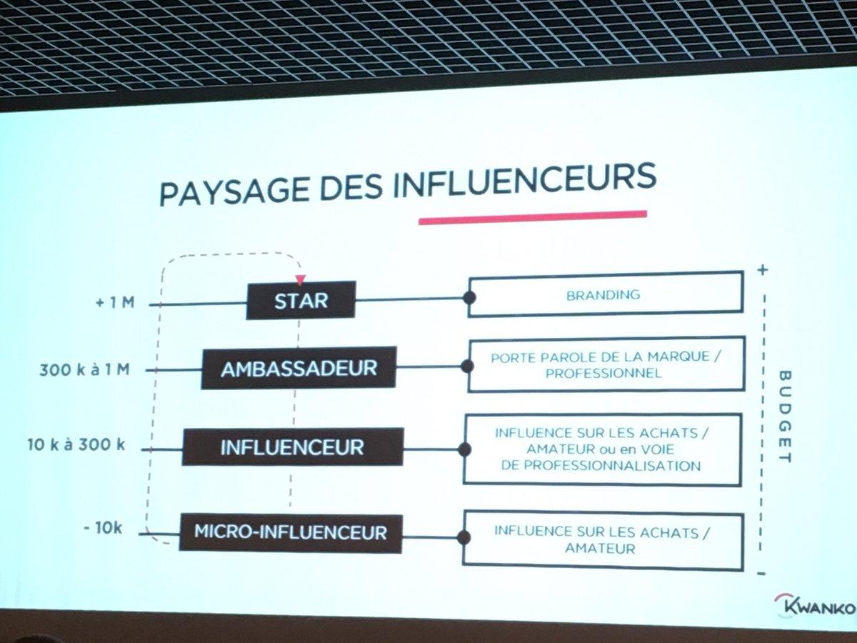 Paysage des #influenceurs du web par catégorie d&#39;impact sur les marques #EC1to1 #SocialMedia #InfluencerMarketing @KwankoGroup<br>http://pic.twitter.com/QoQqZvnNQP