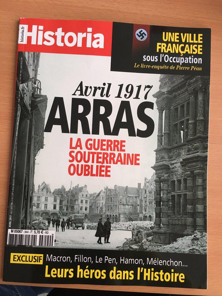Retrouver le récit de la bataille d&#39; #Arras dans le numéro d&#39;avril de @historiamag actuellement dans les kiosques.   #Arras100<br>http://pic.twitter.com/aEcOoKdY7d
