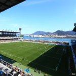 「一度は訪れたい!日本で一番海に近いスタジアム #ミクニワールドスタジアム北九州 へいこう♪」 jl…