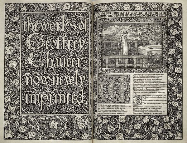 Graphic Design Influenced By Illuminated Manuscripts