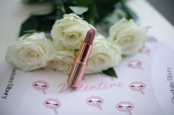 Charlotte Tilbury Valentine And Pillowtalk Lipstick Review