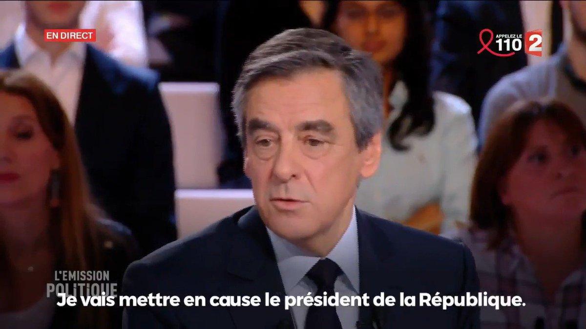Je mets en cause le président de la République, et je demande solennellement l'ouverture d'une enquête.