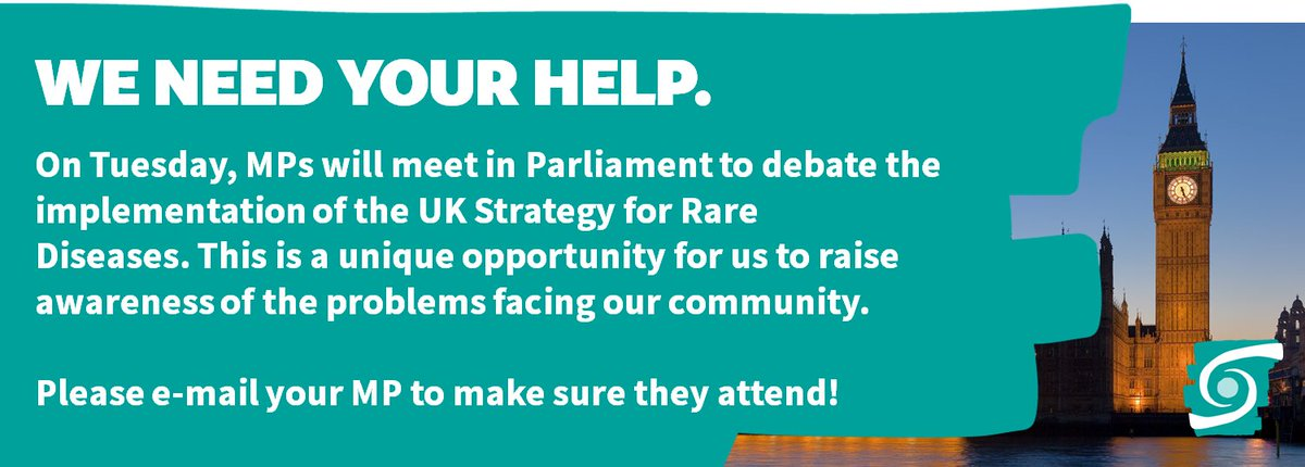 UK #RareDisease debate happening next Tuesday in Parliament, and we need your help! Ask your MP to attend. More info  http:// bit.ly/RAIRDA  &nbsp;  <br>http://pic.twitter.com/tCIPojmgNR