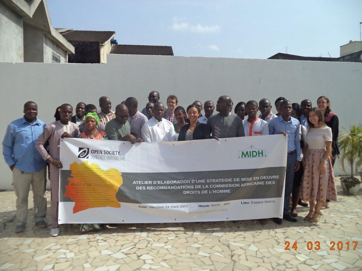 L&#39;atelier #Commission Africaine des #Droits de l'Homme. #voiceup #ongciv #internews #civ @OvillageCi @OpenSociety @OSFJustice @sesayalpha<br>http://pic.twitter.com/oI0grFIBQW
