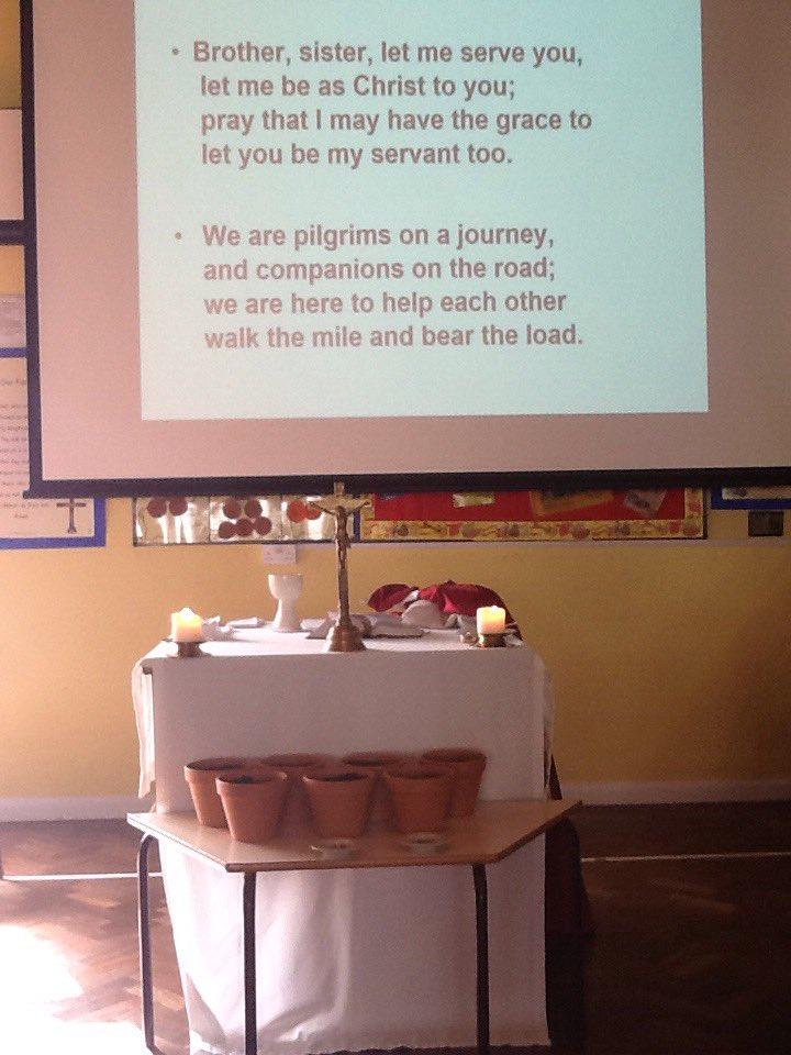 Ready for our Romero Mass #OscarRomero #stgregs