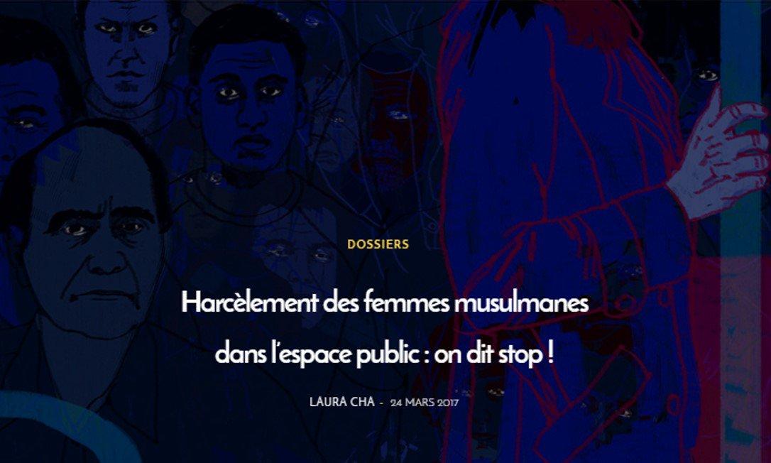 #Magazine : Harcèlement des femmes musulmanes dans l&#39;espace public : STOP !   http://www. lallab.org/harcelement-de s-femmes-musulmanes-dans-lespace-public-on-dit-stop/ &nbsp; …  cc @PayeTaShnek @itsmaeril #Lallab<br>http://pic.twitter.com/ftRgWg9HQ2