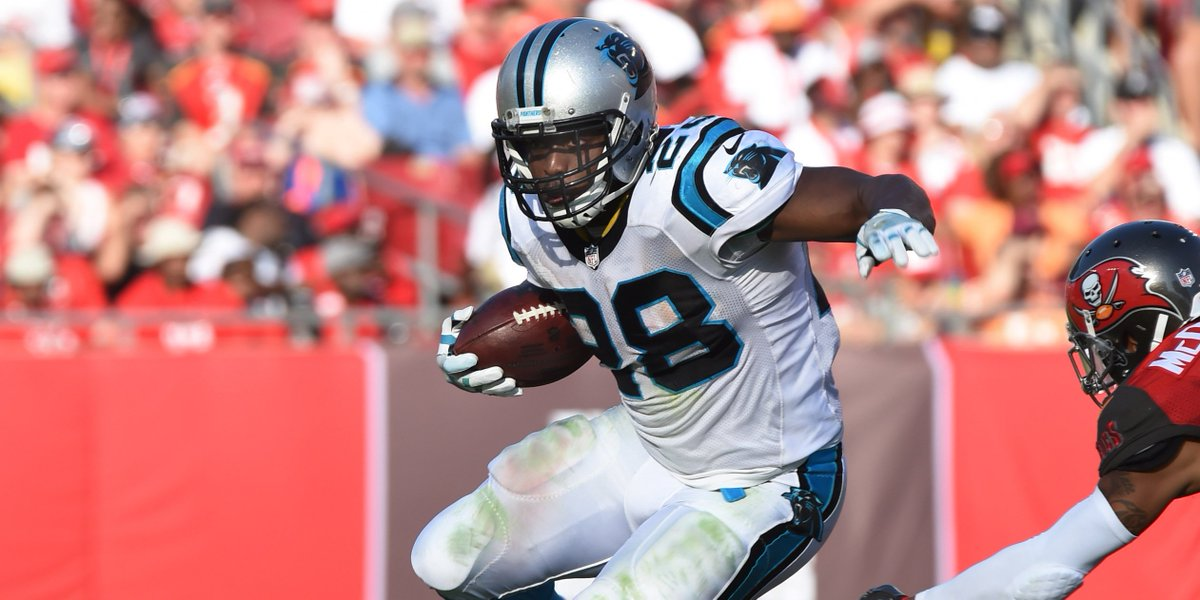 Panthers give RB Jonathan Stewart a one-year contract extension https:...