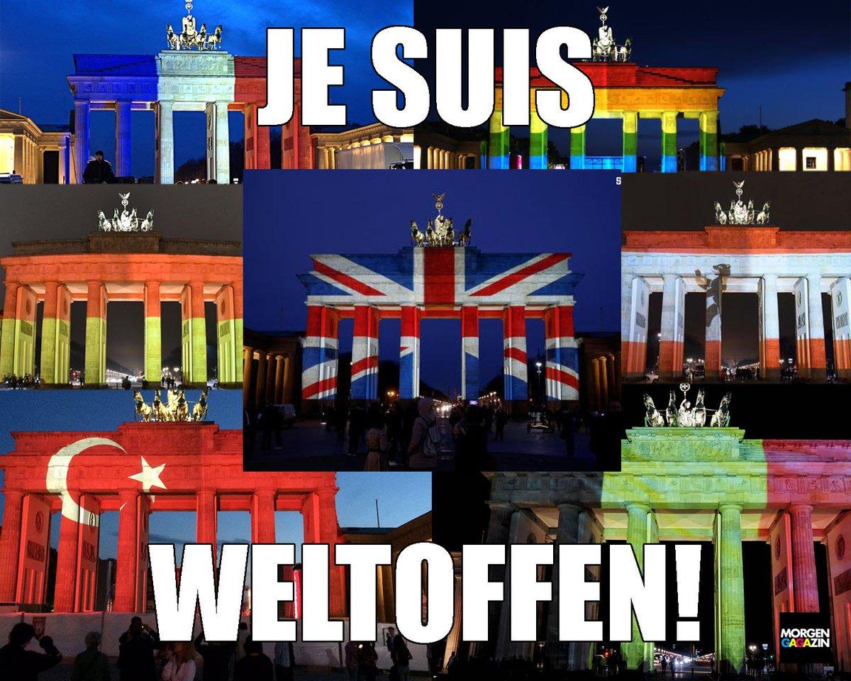 Берлин объяснил отказ подсветить Бранденбургские ворота в цвета флага России