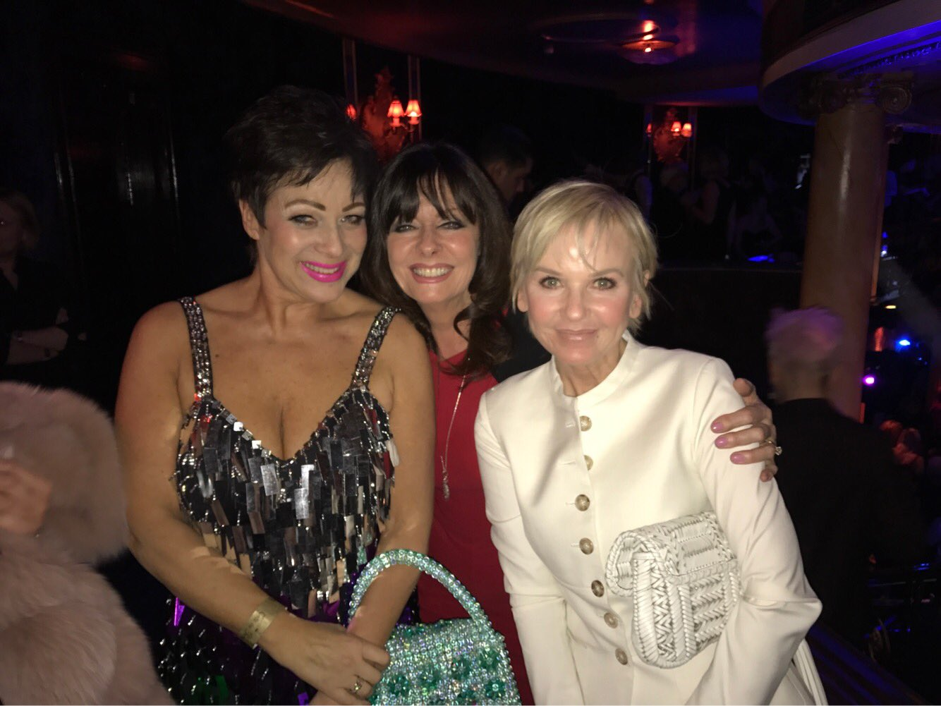 RT @vickimichelle: Congrats on your @DIVAmagazine #DIVA250 Award @RealDeniseWelch  What a night @thelisamaxwell https://t.co/kzX6DtkDGi