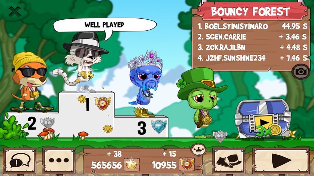 Get on my level, son! #funrun2 #Carrie #Rajilbn #sunshine234<br>http://pic.twitter.com/M6S1a6ytqF