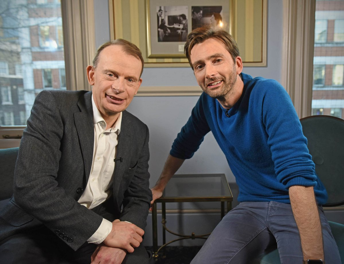 David Tennant on The Andrew Marr Show - March 2017