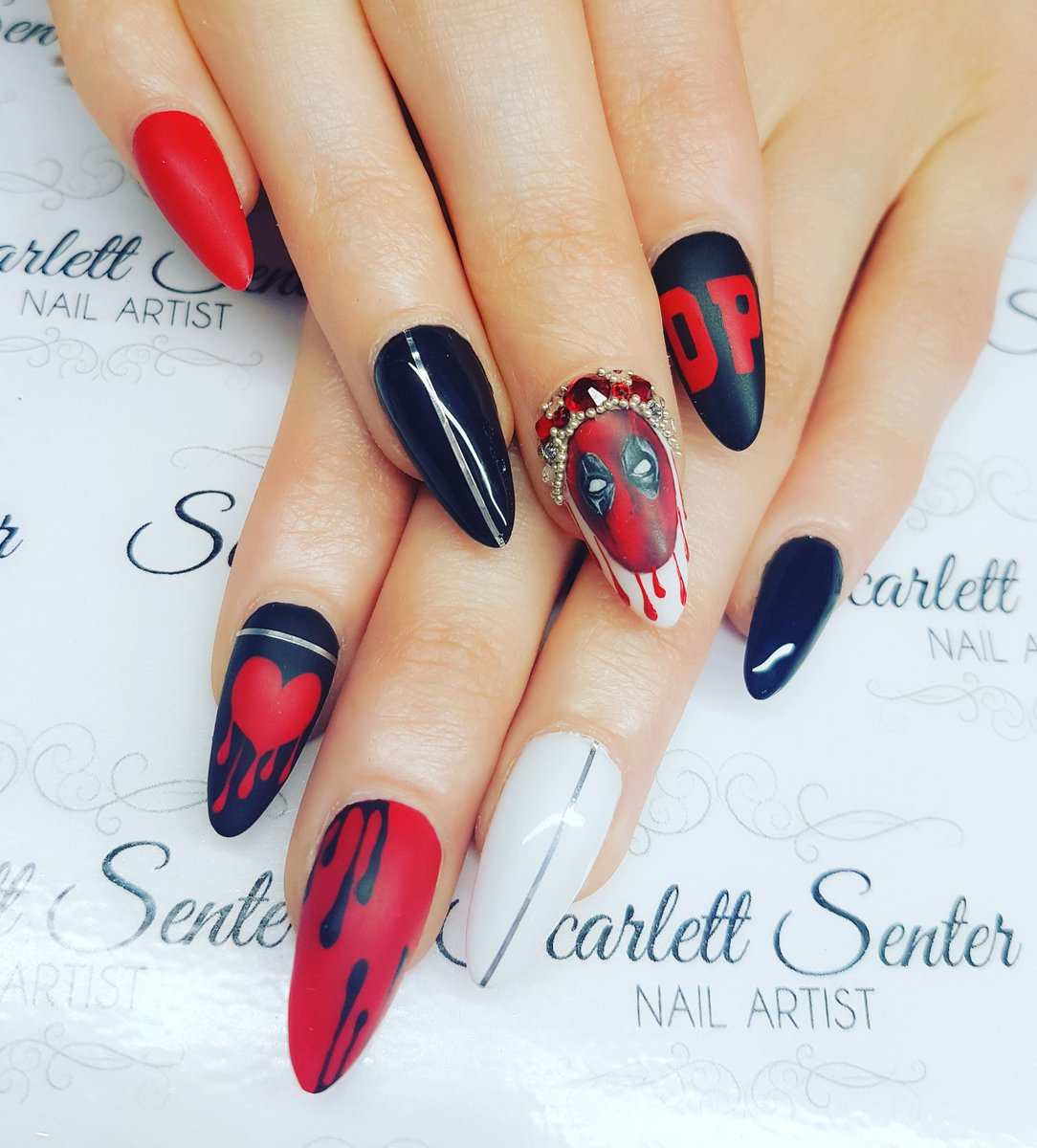 0 replies 1 retweet 8 likes - Scarlett Nail Artist (@scarlettwarren3) Twitter