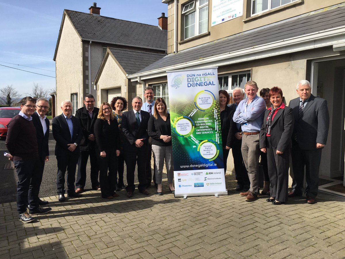 Thank you to all the #DonegalDigital partners for such a fruitful meeting in #Buncrana @Entirl