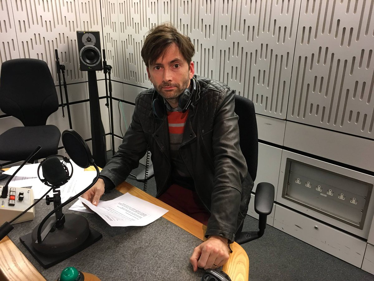 David Tennant from his charity appeal on Sunday for Comic Relief