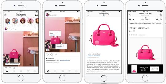 Social commerce: #Instagram déploie le tag sur les produits aux    https://www. socialshaker.com/blog/2017/03/2 3/tags-produits-instagram/ &nbsp; …  #SocialMedia<br>http://pic.twitter.com/0lypWKvpjy