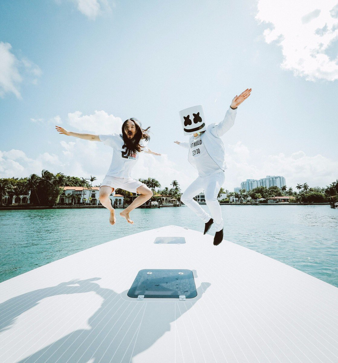 #aokijump #753. The Aoki x @marshmellomusic Jump. SS Groot. Miami Flor...
