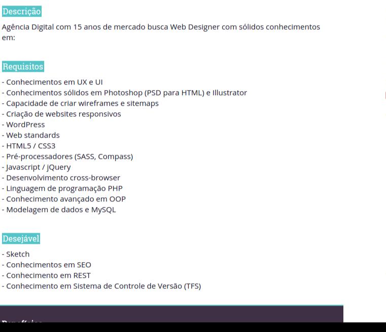 Vagas Bizarras™ está de volta! Nesta edição: vaga pra UX/UI/front-end/back-end/SEO, tudo na mesma função! https://t.co/vhXpg2bsZv