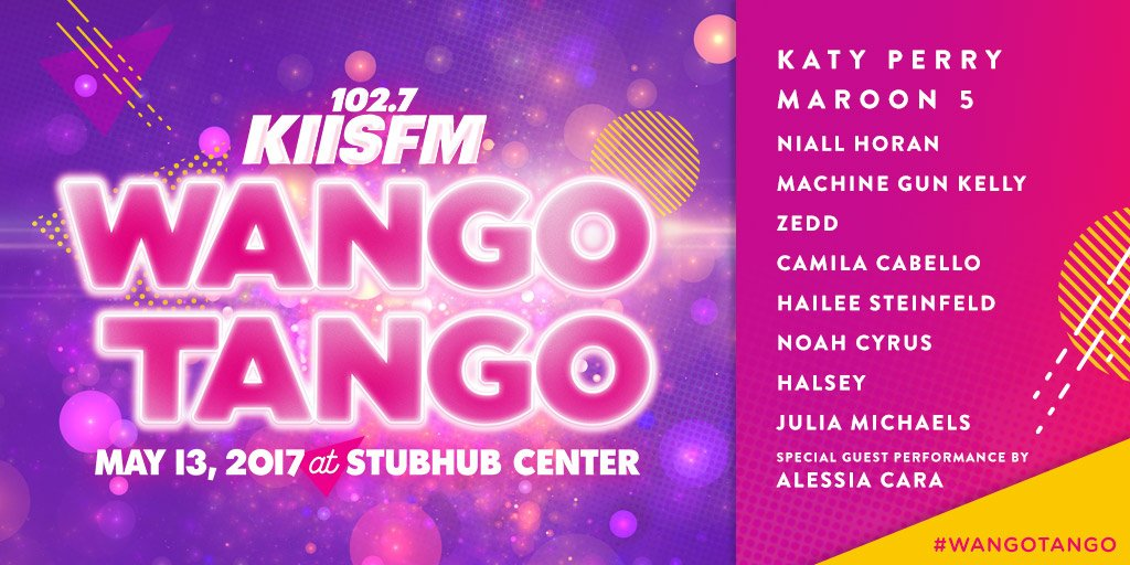 HERE IT IS... the 2017 #WangoTango lineup 🙌🙌🙌 https://t.co/KOXqK92bTU...