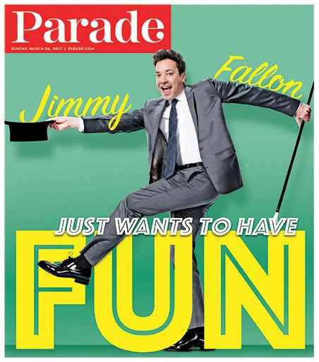 Hey! I'm on the cover!!! Thanks Parade!!!