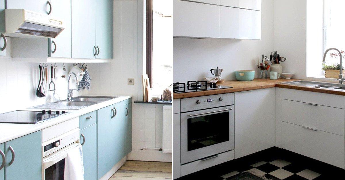 Avant/après : 10 #cuisines #modernisées par les internautes &gt;&gt;  http:// bit.ly/1ZQhufS  &nbsp;  <br>http://pic.twitter.com/Lm7WxVOuGT