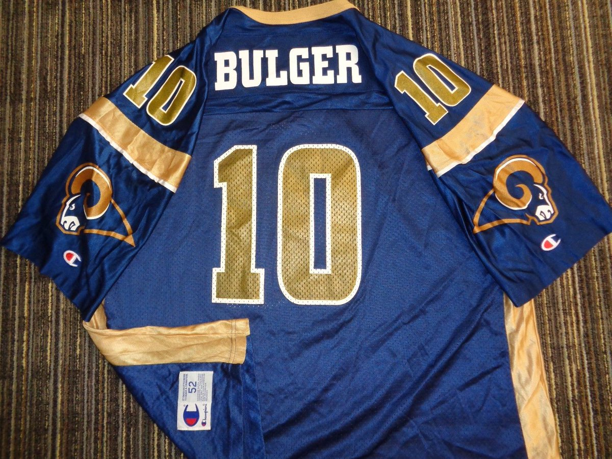 AUTHENTIC MARC BULGER #10 LA LOS ANGELES ST. LOUIS #Rams CHAMPION GAME #Jersey 2X  http:// dlvr.it/NjXfQN  &nbsp;   #NFL #Football<br>http://pic.twitter.com/lGu91sAteE