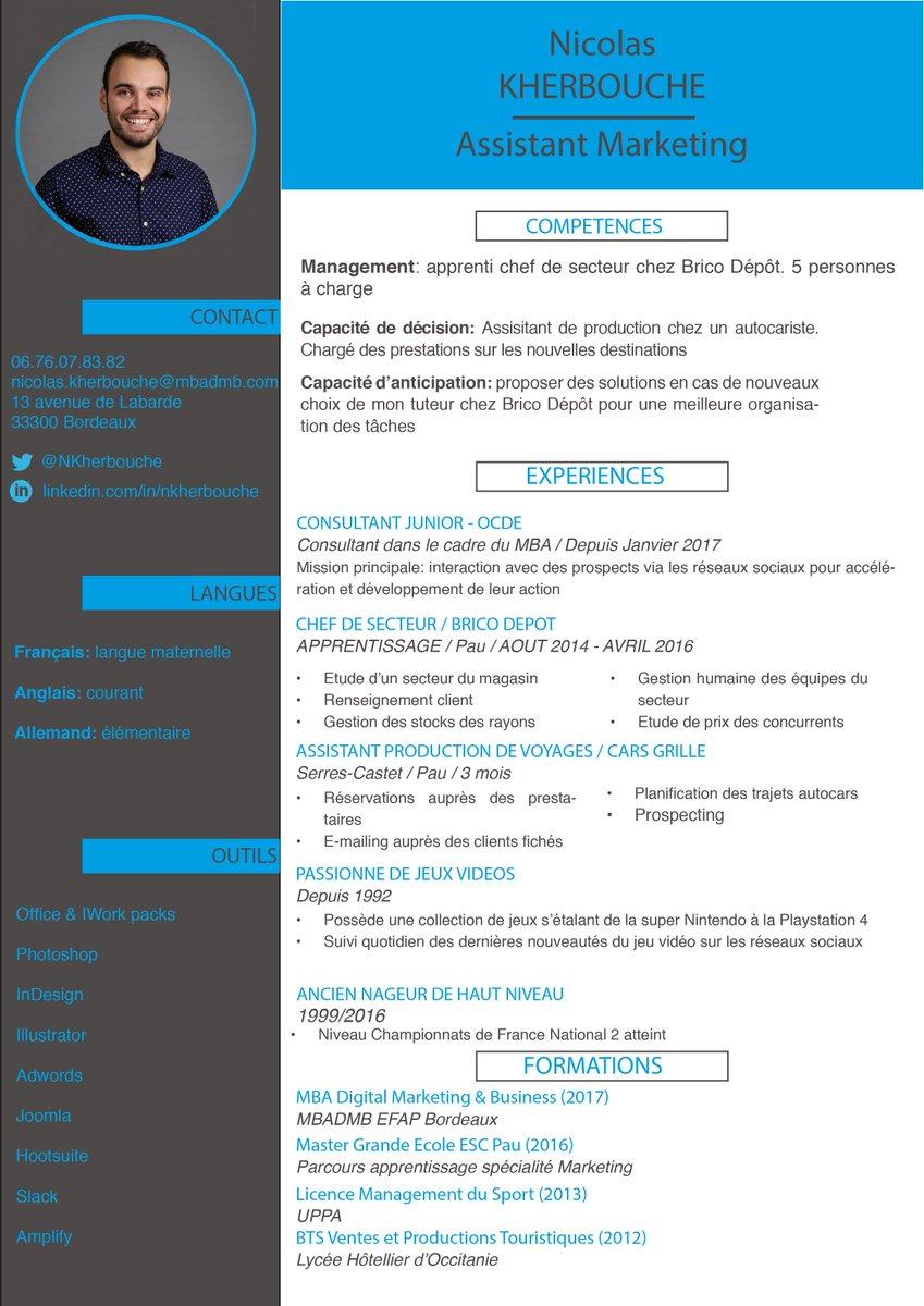 #pleaseRT Dans le cadre de mon @MBADMB je recherche un #stage assistant marketing #digital de 6 mois #MBADMB #DigitalMarketing #France<br>http://pic.twitter.com/Q6vgqPN4vO