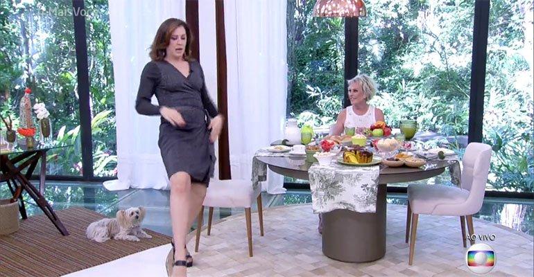 Aos 50, Claudia Raia dança funk de salto 15 e vira sensação nas redes...