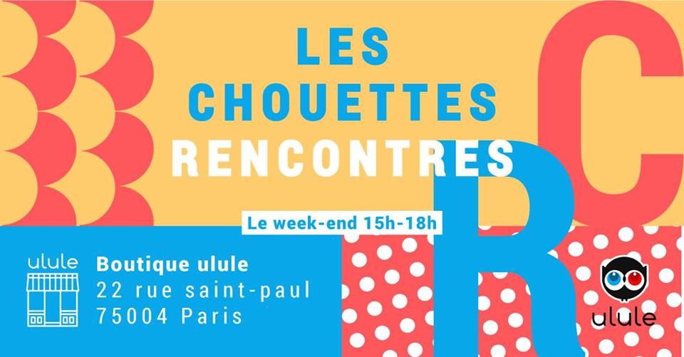 Rendez-vous dimanche à la Boutique @ululeFR , @LouvreuseParis sera l&#39;invitée des Chouettes Rencontres #projetUlule #madeinFrance <br>http://pic.twitter.com/TLusFCY76y