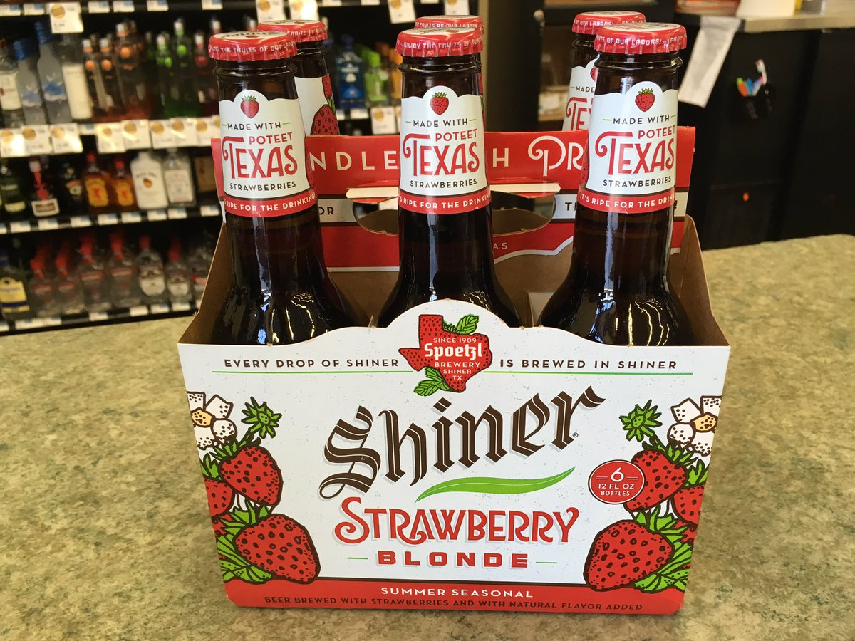 Made with fresh strawberries from Poteet, Texas, Strawberry Blonde @Sh...
