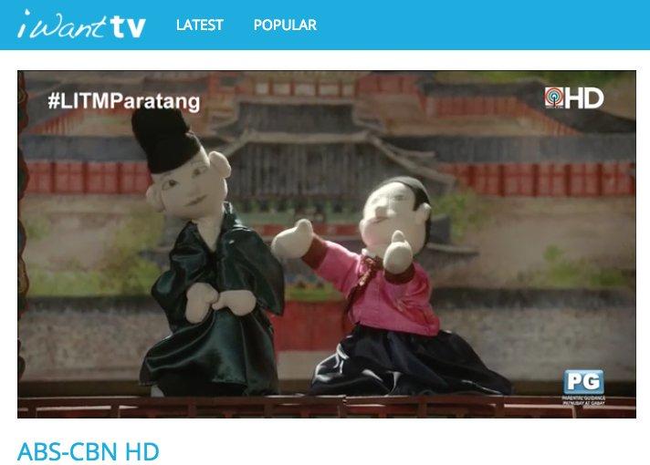 Parang pamilya ang hitsura ng mga puppet na'to. #LITMParatang dito: ht...