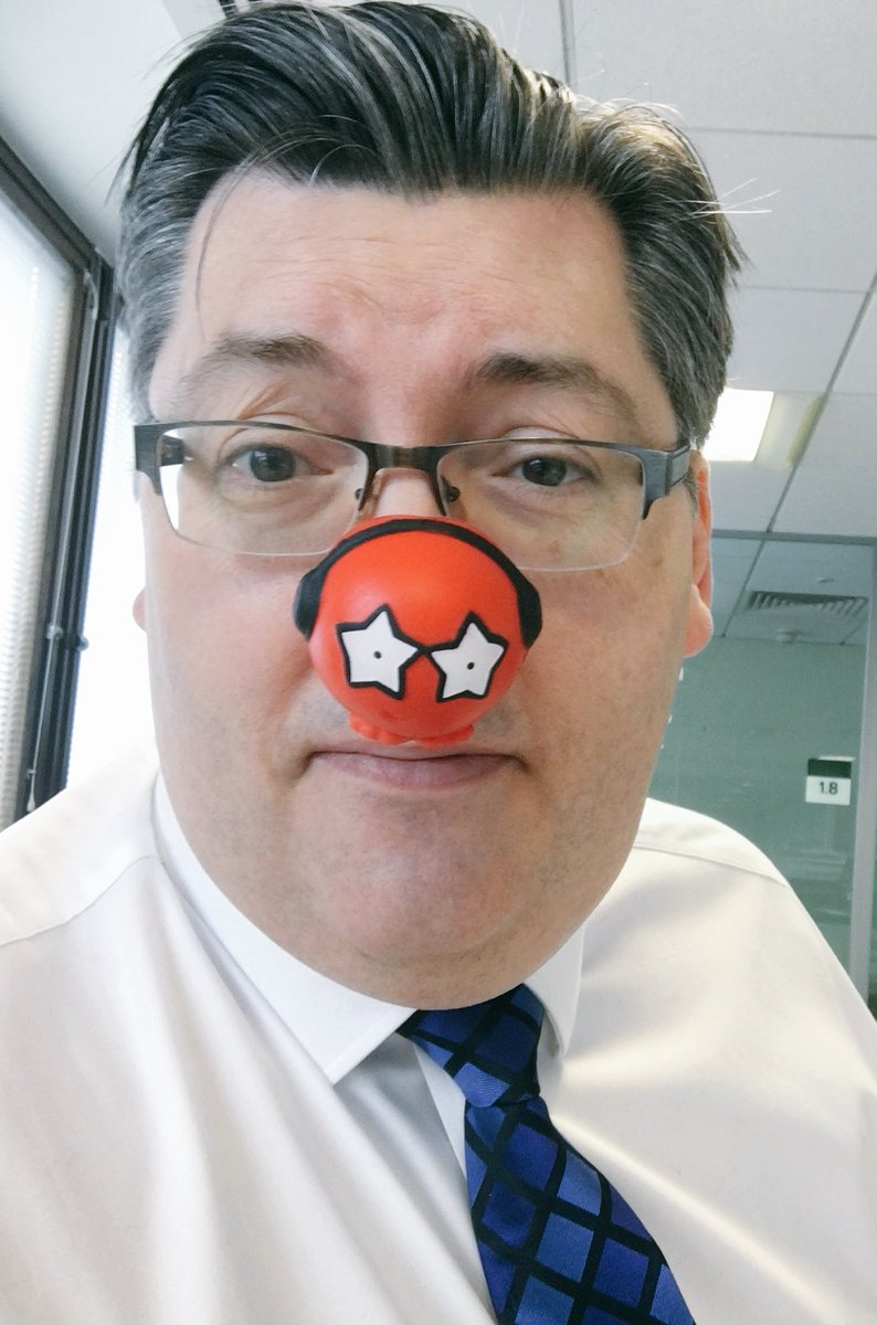 RT @LP_SeanHanson The sophisticated new look of @LP_localgov Happy Red Nose Day!
