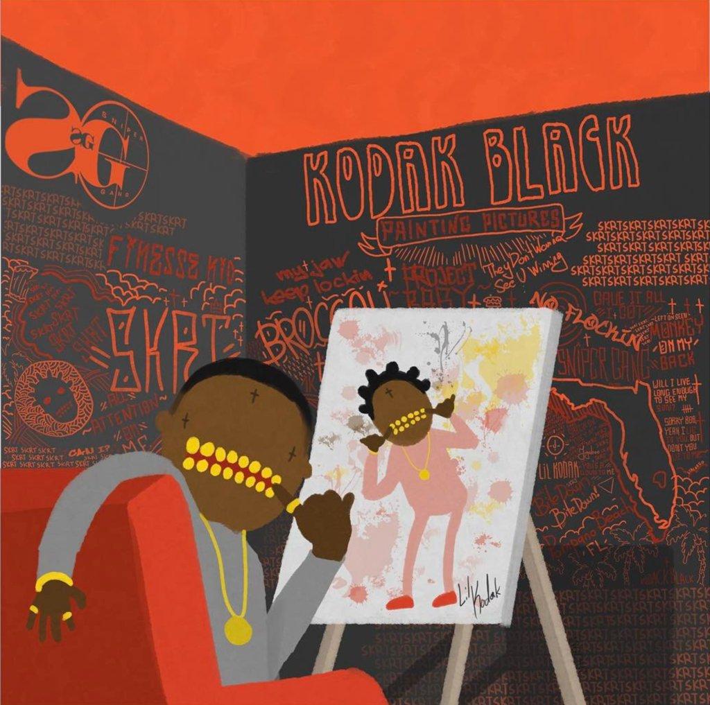 .@KodakBlack1k announces debut album Painting Pictures. https://t.co/3...
