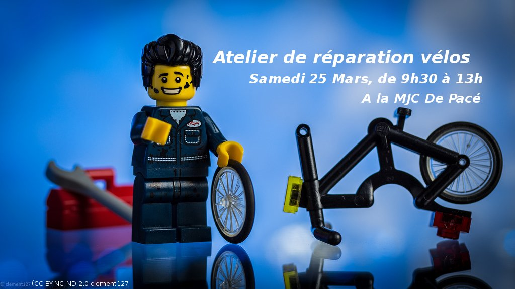 Samedi matin à #Pacé @poussepousspace fait son atelier de réparation de #vélo !  http:// rennes.carte-ouverte.org/rennes-vitre/? current_feature=6982&amp;checked_categories=54 &nbsp; … <br>http://pic.twitter.com/2Gz1JvAPC5