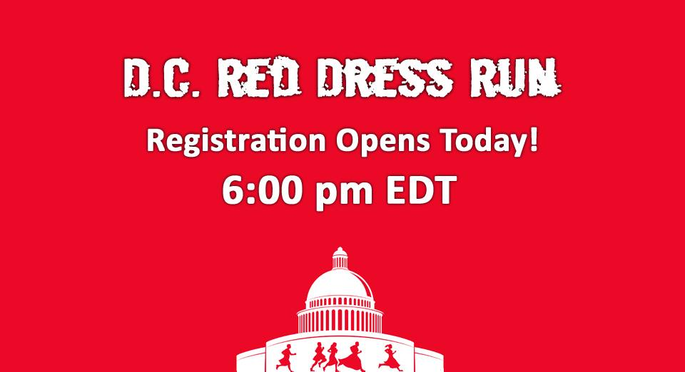 Red dress run sign up