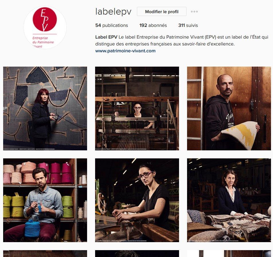 Retrouvez le @labelepv aussi sur #instagram !  https://www. instagram.com/labelepv/  &nbsp;   #labelepv #savoirfaire #epv #excellence<br>http://pic.twitter.com/2103QrXEKG