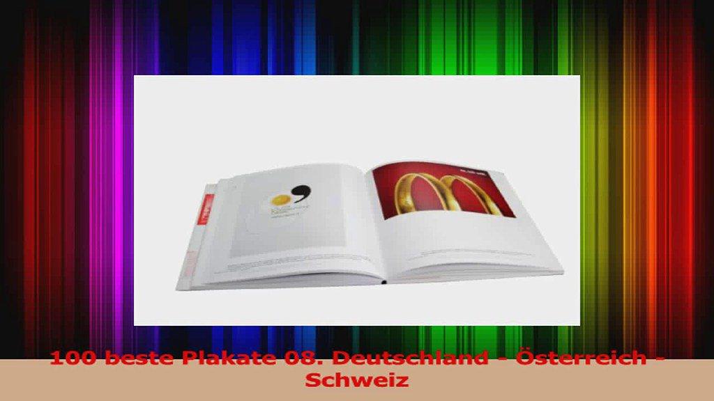 Lesen  100 beste Plakate 08 Deutschland  Österreich  Schweiz EbookOnl...