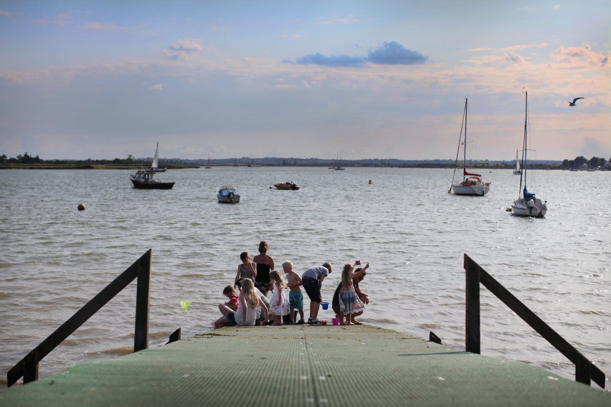 Mill Beach Seaside Resort was founded by D William Kingston in 1947. The 16 acre site, on the banks on the beautiful #Blackwater #Estuary<br>http://pic.twitter.com/A5Qxvl1X2I