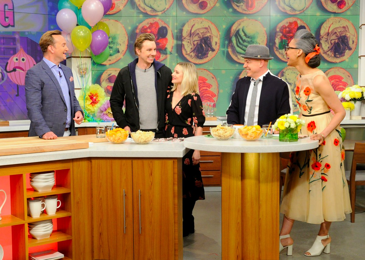 You definitely don't want to miss @DaxShepard1 and @IMKristenBell on t...