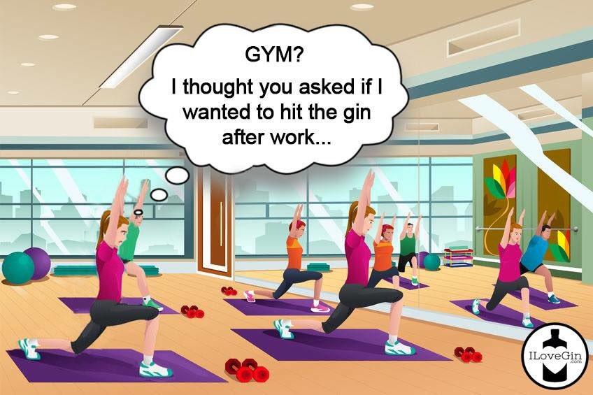 Gin or Gym ... https://t.co/h4AHdFpFpc