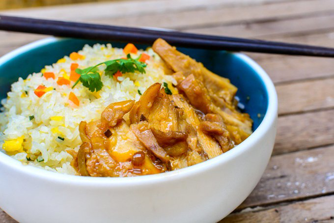 Instant Pot Teriyaki Turkey & Rice
