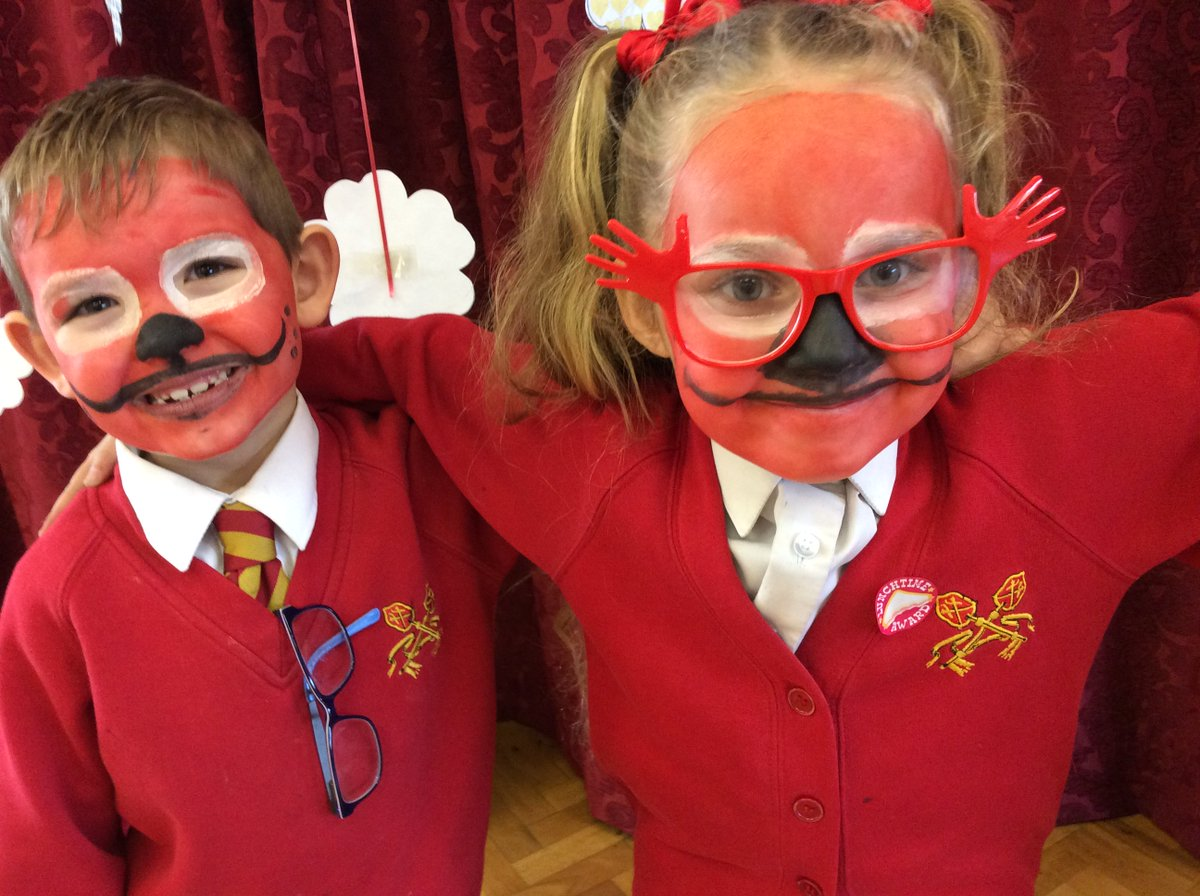 A big thank you to Miss Hicks for our wonderful face painting in support  of Red Nose Day.