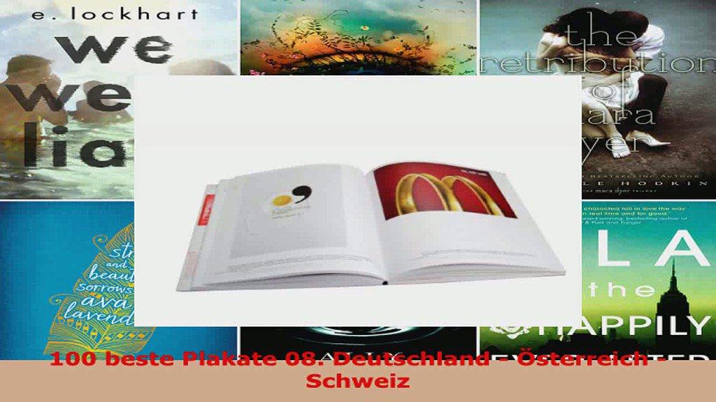 Lesen  100 beste Plakate 08 Deutschland  Österreich  Schweiz PDFOnlin...