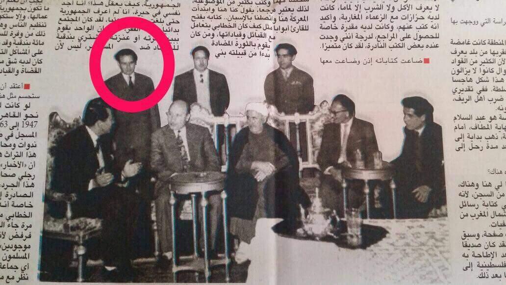 La familia Zafzafi es muy cercana a Abdelkrim. En la imagen aparece Mo...